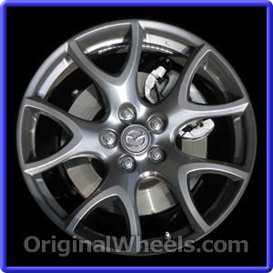 Used Mazda Rx8 >> 2009 Mazda RX-8 Rims, 2009 Mazda RX-8 Wheels at OriginalWheels.com