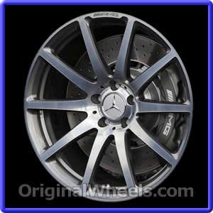 Mercedes stock rims