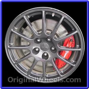 2008 Mitsubishi Lancer Rims 2008 Mitsubishi Lancer Wheels