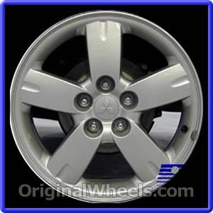 2006 Mitsubishi Outlander Rims, 2006 Mitsubishi Outlander Wheels at OriginalWheels.com