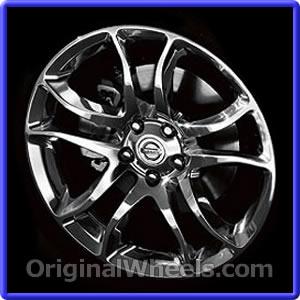 2009 Nissan 370z Rims 2009 Nissan 370z Wheels At Originalwheels Com