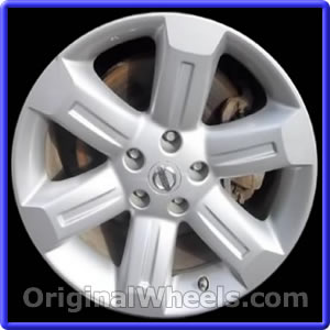 2007 Nissan Murano >> 2007 Nissan Murano Rims, 2007 Nissan Murano Wheels at ...