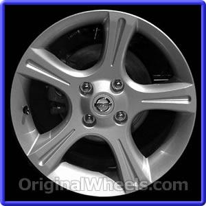 Like New 2003 Nissan Sentra Wheels   Used 2003 Nissan Sentra Rims