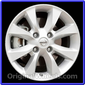 Wheel Part Number: #62550 2010 2012 Nissan Sentra