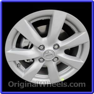 Used Nissan Versa >> 2012 Nissan Versa Rims, 2012 Nissan Versa Wheels at ...