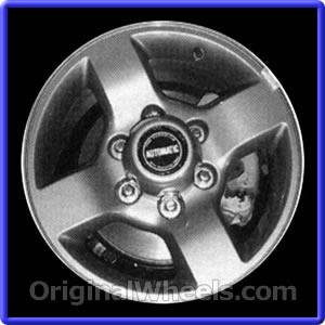 Used Nissan Xterra >> 2002 Nissan XTerra Rims, 2002 Nissan XTerra Wheels at OriginalWheels.com