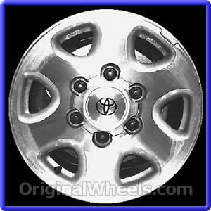 Toyota Sienna 1999 - Wheel & Tire Sizes, PCD, Offset and