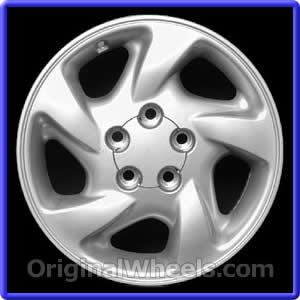 OEM Chrome Toyota Rav 4 Wheel//Rim Part# 69362
